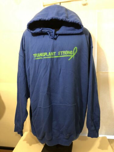 Gildan Men/Unizex2XL Royal Blue Hoodie** Organ Tra