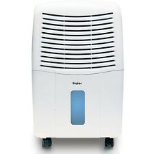 Haier 2 Speed Portable Electronic Air Dehumidifier with Drain, 65 Pint | DE65EM