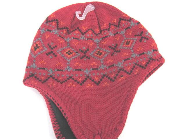baaf8bc88c366 DORFMAN PACIFIC PERUVIAN FLEECED LINED TWISTED TASSELS KNIT HAT