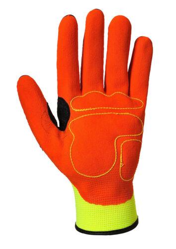 XLarge Portwest Anti Impact Nitrile Gloves Cut Resistant Level 3 A721