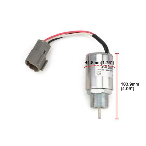 SA-3725-12 Fuel Shut Off Solenoid for Mitsubishi S4L S3L L3E S3L2 Fit Volvo EC15