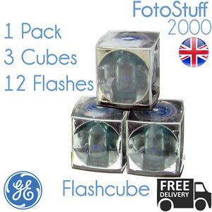 Flashcube GE 42409 Vintage Standard Flashcube