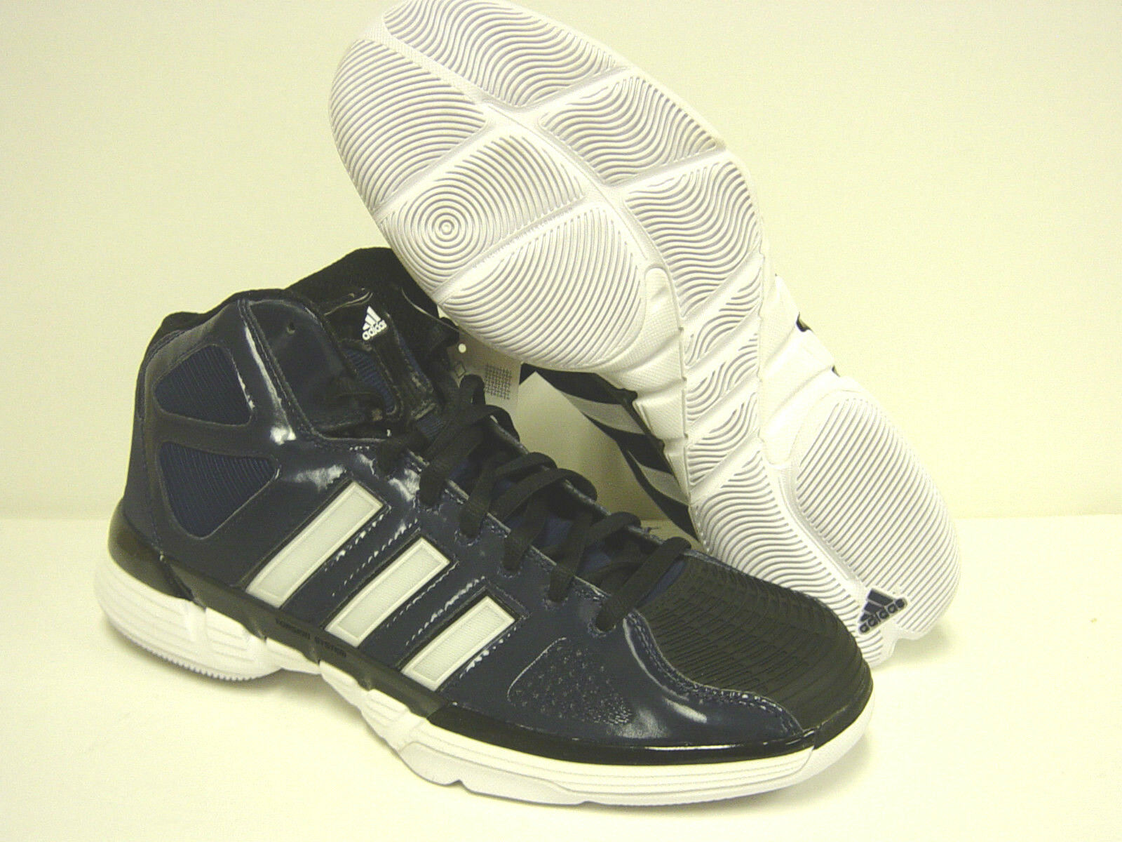 NEW Mens ADIDAS Pro Model 0 G21007 Indigo Blue White Basketball Sneakers Shoes The latest discount shoes for men and women