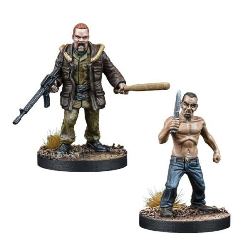 The Walking Dead All Out War-Abraham Booster-Mantic-Envoi 1ST Classe