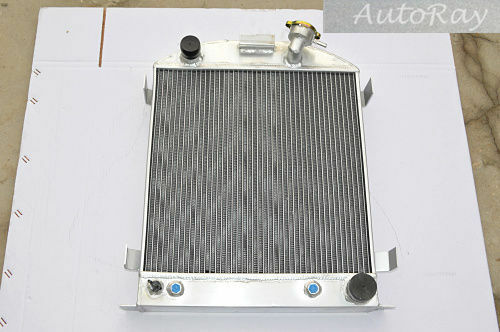 Full Aluminum Radiator for Ford Hi Boy Hi-Boy Chevy Engine Hotrod 3 Rows Auto