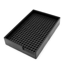 Plastic Screw Tray Holder Black Anti-Static 2.5-3.0mm Screw Storage Box