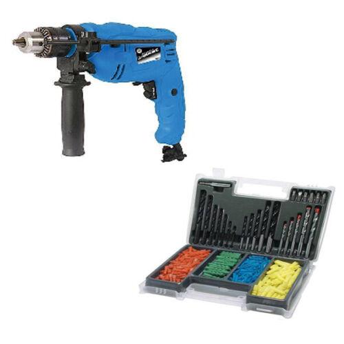 500 W Marteau perforateur avec 300Pc Drill Bit Set prise murale 25 mm bois 13 mm Maçonnerie