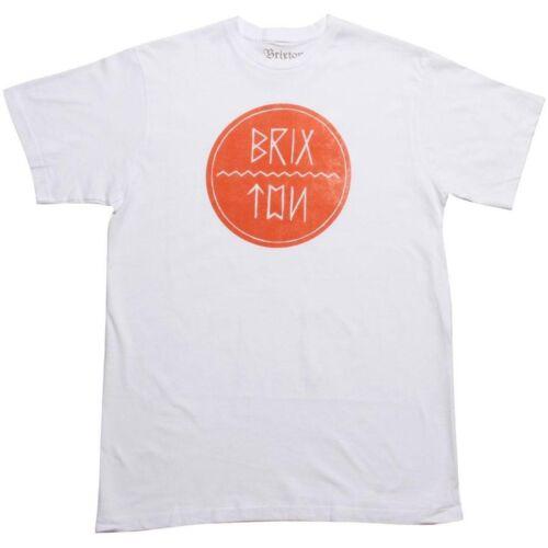 white $28.00 Brixton Corbin Tee 11306185-0200