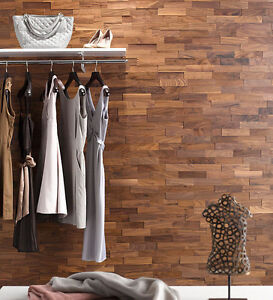 3D-Echtholz-Wandverkleidung-Nussbaum-wodewa-Holzwand-Holzpaneele-Holzfliese