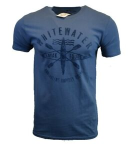 NORTHERN-OUTPOST-Mens-T-Shirt-American-USA-Whitewater-Hiking-Kayak-Outdoor-Tee