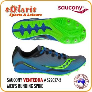 1ae6873c Details about Saucony Men's VENDETTA Middle Distance Running Racing Spike  Track Shoe #S29027-2