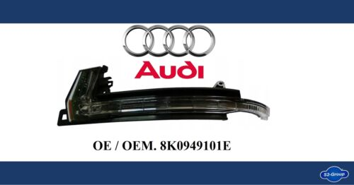 />/> Audi A4 A5 Q3 Left Wing Mirror Led Repeater Indicator Lamp Light Genuine /</<