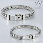 8-12 long 4 Silver Tone Metal BANGLE Charm Bracelets fin0017 22 cm long