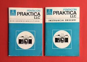 2 mode d'emploi VEB Pentacon Dresde 1971 PRAKTICA LLC langues (f18515-itungen VEB Pentacon Dresden 1971 Praktica LLC Sprachen ( F18515afficher le titre d`origine vlKjfeN0-07210555-868045105