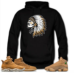 1ef54453a9a Hoodie to match Jordan Golden Harvest OG Wheat Gold 6 1 13.Chief ...