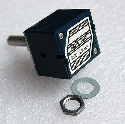 Original ALPS RK27 VOLUME Dual 10K Potentiometer Round shaft
