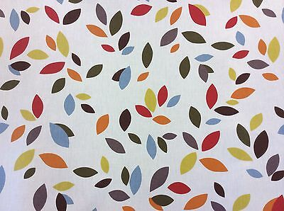 Scattered Leaves furnishing fabric by prestigious textiles