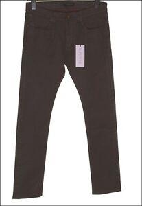 Skinny Mens W29 Rrp 145 Stretch Superfine £ Bnwt Cioccolato metallico Jeans Sly L32 wtq44