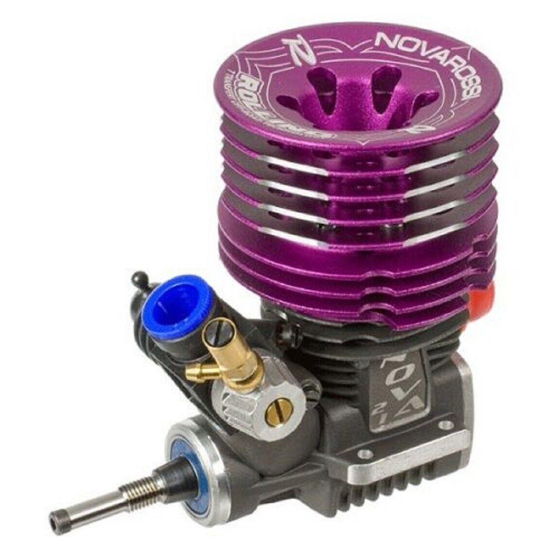 ENGINE  MOTORE NOVAROSSI ROLLING .21 7 stroke OFF strada STELL ACCIAIO ON strada  spedizione gratuita!