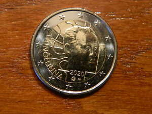 SOFORT-Finland-2020-NEW-2-Euro-BU-cc-coin-100-YEARS-VAINO-LINNA-FROM-ROLL