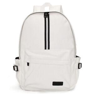 Men-039-s-Vogue-Leather-Travel-Backpack-Rucksack-Camping-School-Laptop-Satchel-Bag