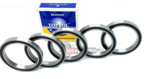 Details about  /5 PCS TOPROL 6810-2RS C3 Premium Sealed Ball Bearing 50x65x7mm 6810-RS 61810-2RS