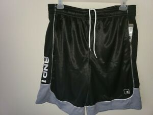 Size M.*** *** New Mens Basketball Shorts by And1.**Adjustable Elastic Waist