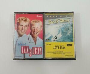 Jan & Dean Cassette Lot - Surf City - The Best of Jan & Dean