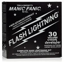 Flash Lightning Manic Panic Bleach Kit 30 Volume Box Bleached Hair Dye Color