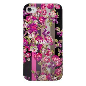 KENZO-Cover-Kilai-Coque-de-protection-Noir-pour-Apple-iPhone-4-4S