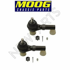 For Mercury Monterey Ford Freestar 04-07 Set of 2 Front Outer Tie Rod Ends Moog