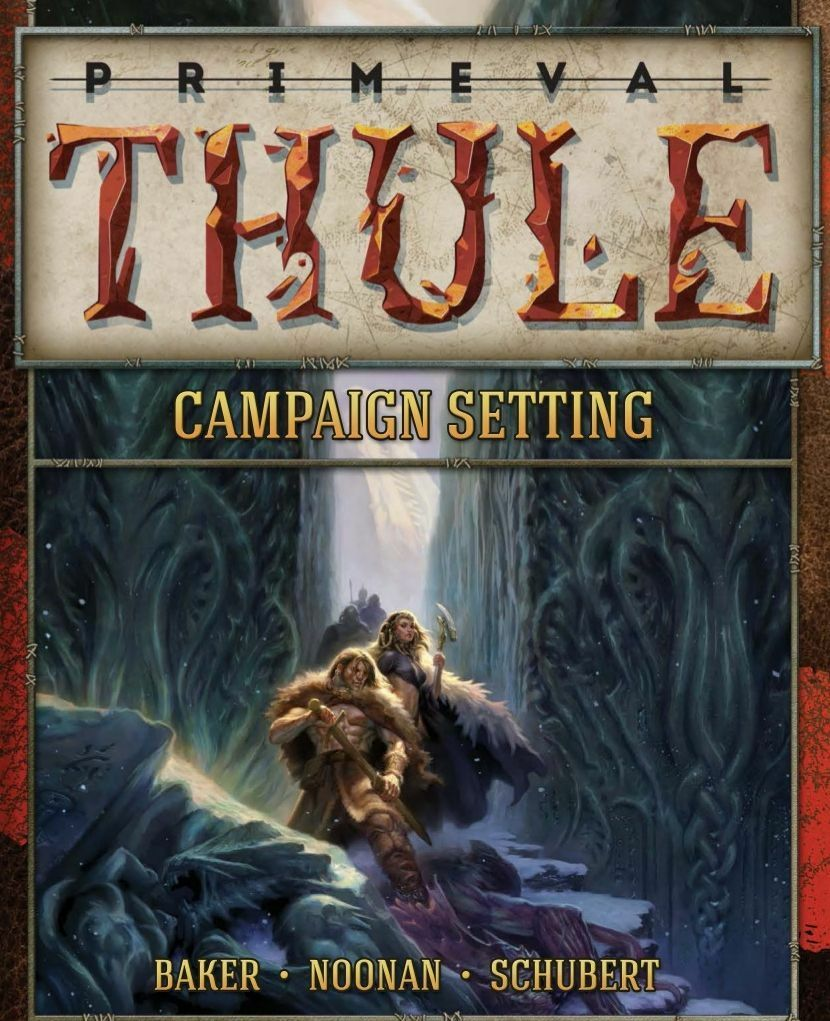Primeval Thule, A Campaign Setting for D&D & Pathfinder, New, English