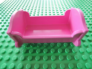 Baukästen & Konstruktion Lego Belville 2 x Bett LEGO Bausteine & Bauzubehör