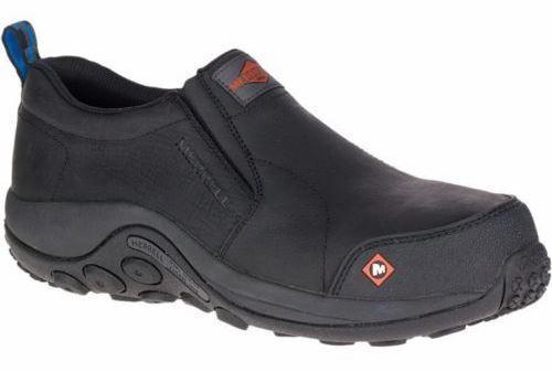 Merrell Para Hombre J15791 Jungle Moc Composite Toe Resbalón en Zapatos Trabajo De Seguridad - 11.5US