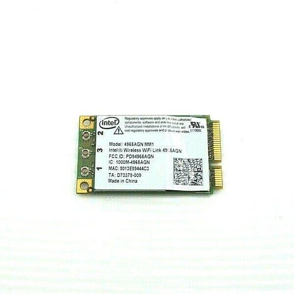 Intel 4965AGN MM1 802.11agn Wifi Card TA# D73379-009 for Sony Vaio