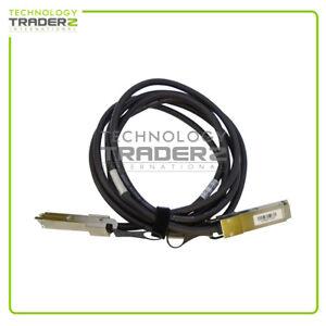 LOT OF 5 Mellanox Certified 4X QSFP InfiniBand Copper Cable MCC4Q28C-003