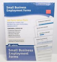 Adams Small Business Employment Forms - Hv100
