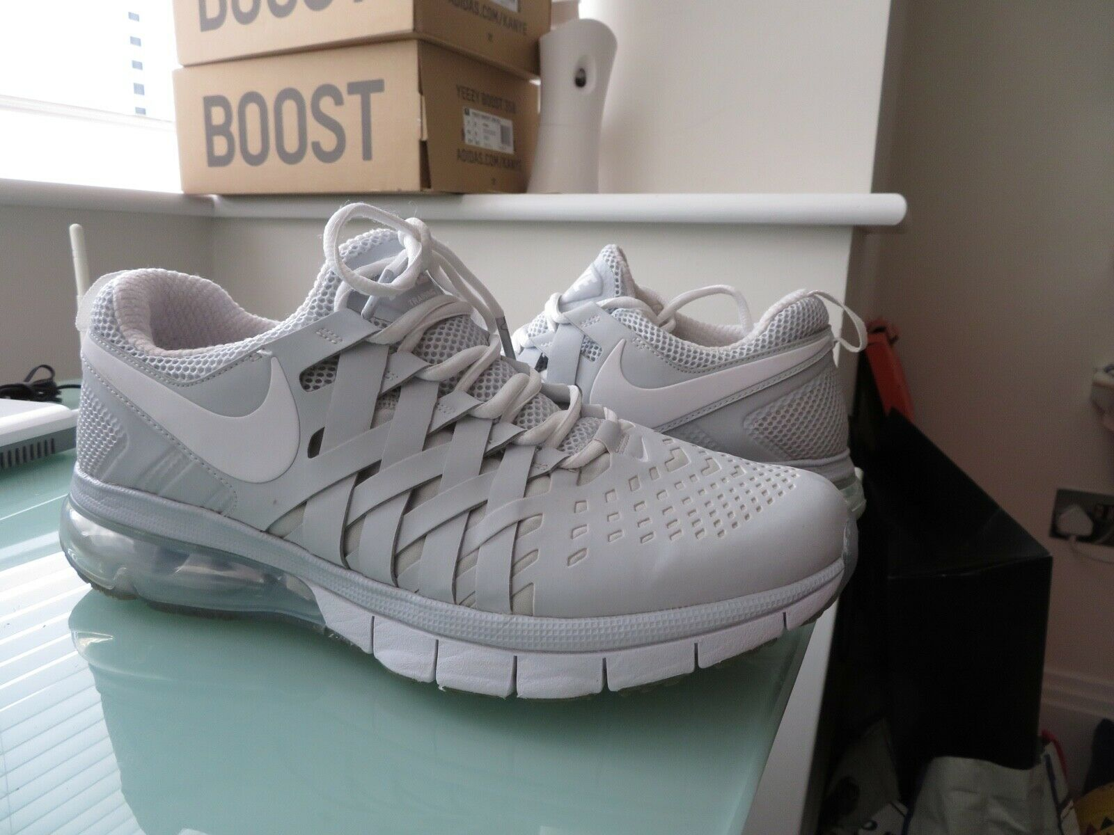 Nike Fingertrap Max Grey HTF SUPER Condition UK Size 10 EU 45