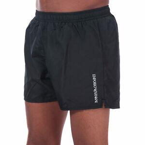 Homme-Emporio-Armani-ultra-leger-a-Swim-Shorts-En-Noir