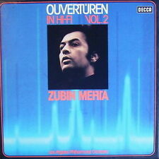 Zubin Mehta Ouvertüren In HI-FI Vol. 2 Los Angeles Philharmonic Orchestra 2 LP