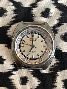 Seiko Navigator World Timer GMT 6117-6409 from 1971