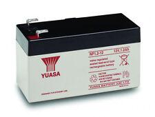 YUASA 12v 1.2Ah (1.3Ah) Rechargeable Battery Security Alarm Systems 1 Yr Warnty