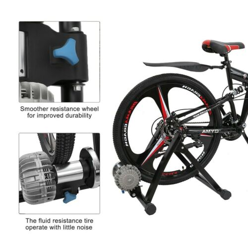 Fluid Bike Training Bench Indoor Bicycle Sports Rack Folding Bike Training Bench