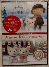 Hallmark: Jingle All the Way + Jingle & Bells Christmas Star DVD - New!