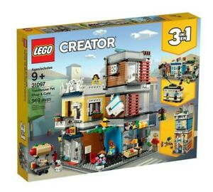 LEGO-31097-Creator-Townhouse-Pet-Shop-amp-Cafe-BRAND-NEW-SEALED