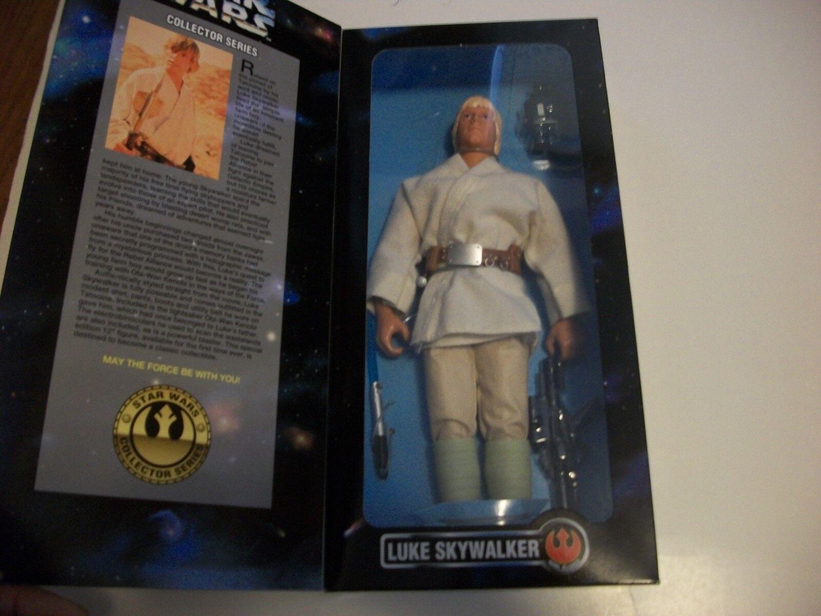 Star Wars Luke Skywalker  12 inch figure  Kenner  1996 NRFB