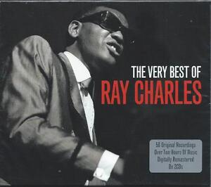 Ray-Charles-The-Very-Best-Of-Greatest-Hits-2CD-NEW-SEALED