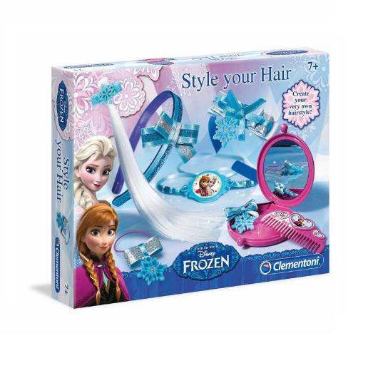 Clementoni Disney  Frozen Hair Style Set