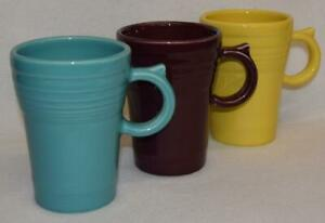 Fiesta-LATTE-MUGS-Choice-of-Discontinued-amp-Current-Colors