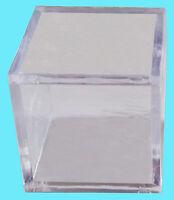 Ultra Pro Mini Memorabilia Display Case Clear Acrylic Golf Ball Cube Figurine